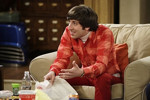The Big Bang Theory: Simon Helberg nell'episodio The Vengeance Formulation