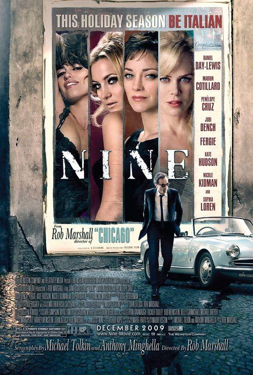 Un altro Poster USA per Nine