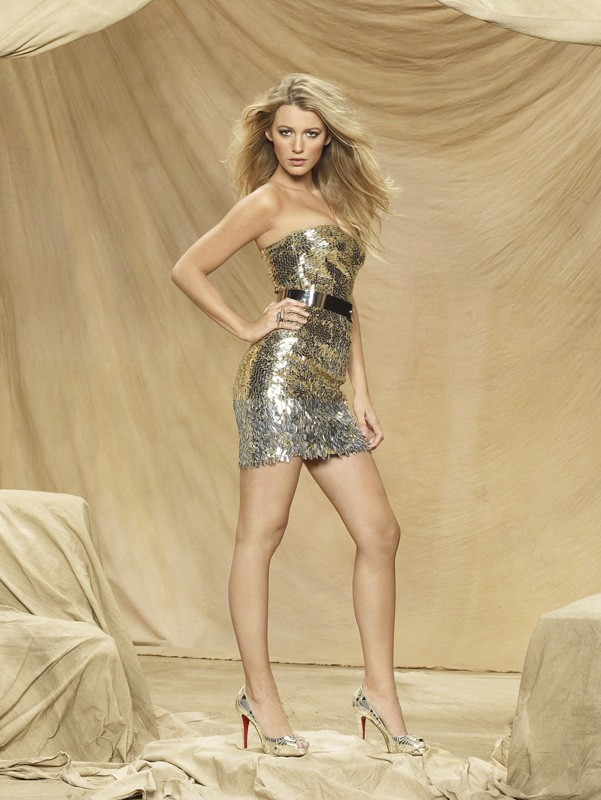 Un'immagine promozionale di Blake Lively per la season 3 di Gossip Girl