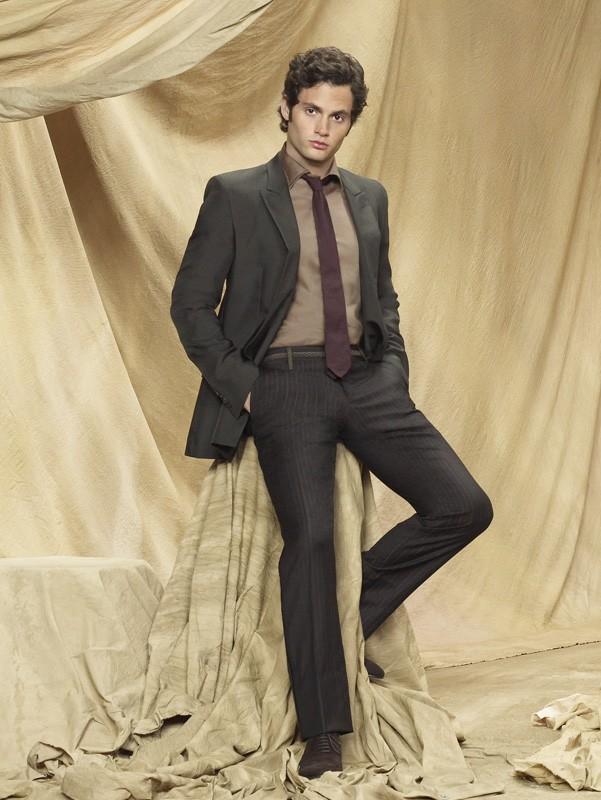 Un'immagine promozionale di Penn Badgley per la season 3 di Gossip Girl