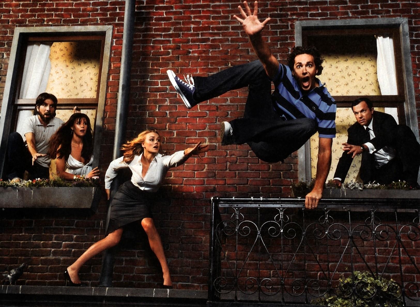Un wallpaper di gruppo per la serie tv Chuck