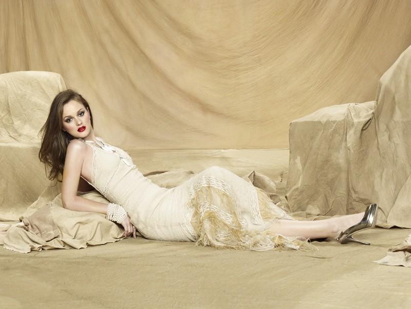Una foto promozionale della stagione 3 di Gossip Girl con Leighton Meester