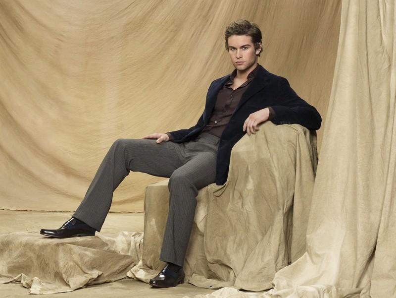 Una foto promozionale di Chace Crawford per la stagione 3 di Gossip Girl