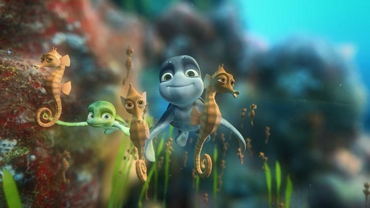 Una scena del film d'animazione Il giro del mondo in 50 anni - 3D