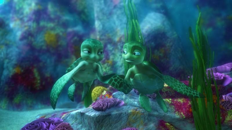 Una sequenza del film d'animazione Il giro del mondo in 50 anni - 3D