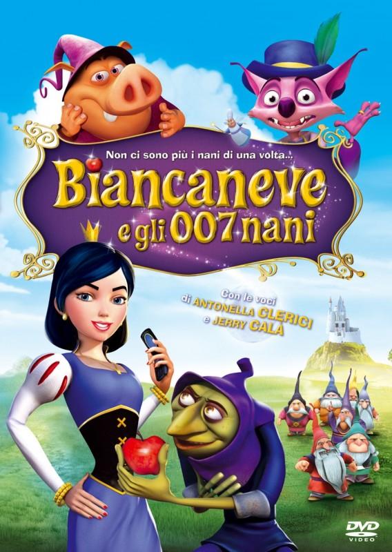 La copertina di Biancaneve e gli 007 nani (dvd)