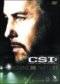La copertina di CSI: Crime Scene Investigation. Stagione 8. Vol. 1 (dvd)