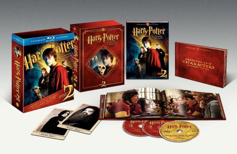 La copertina di Harry Potter e la Camera dei Segreti - Ultimate Edition (blu-ray)
