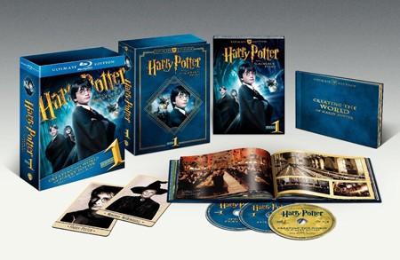 La copertina di Harry Potter e la Pietra Filosofale - Ultimate Edition (blu-ray)