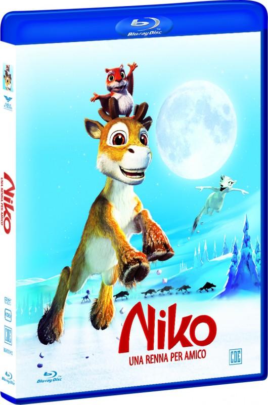 La copertina di Niko una renna per amico (blu-ray)