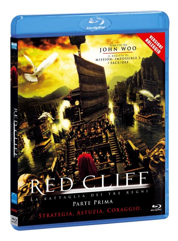La copertina di Red Cliff Parte I - I tre regni Versione noleggio (blu-ray)