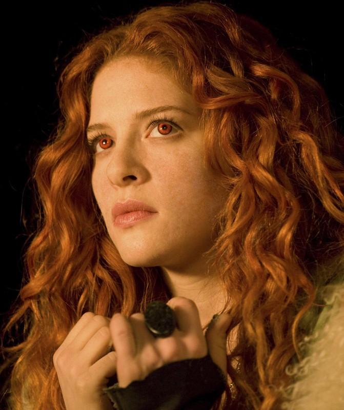 La diabolica Victoria (Rachelle Lefevre) per il film Twilight Saga: New Moon