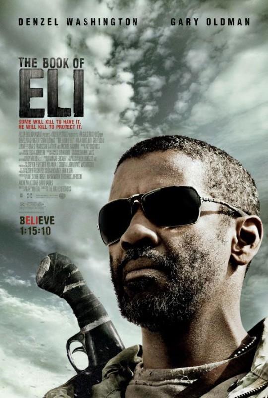 Locandina del thriller The Book of Eli