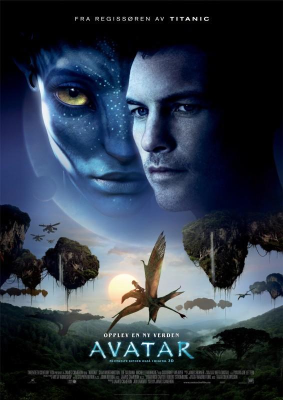 Poster norvegese per Avatar