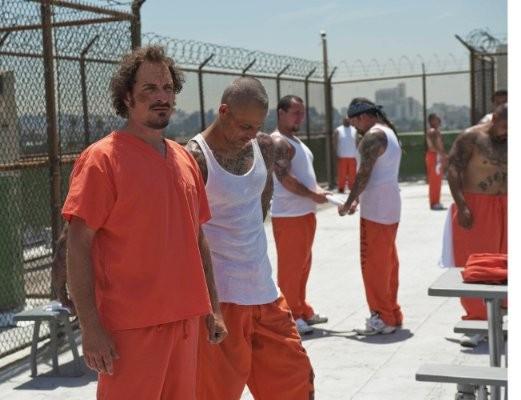 Sons of Anarchy: Kim Coates in una scena dell'episodio Gilead