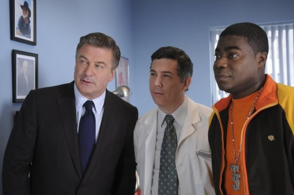 30 Rock: Tracy Morgan ed Alec Baldwin in una scena dell'episodio Sun Tea
