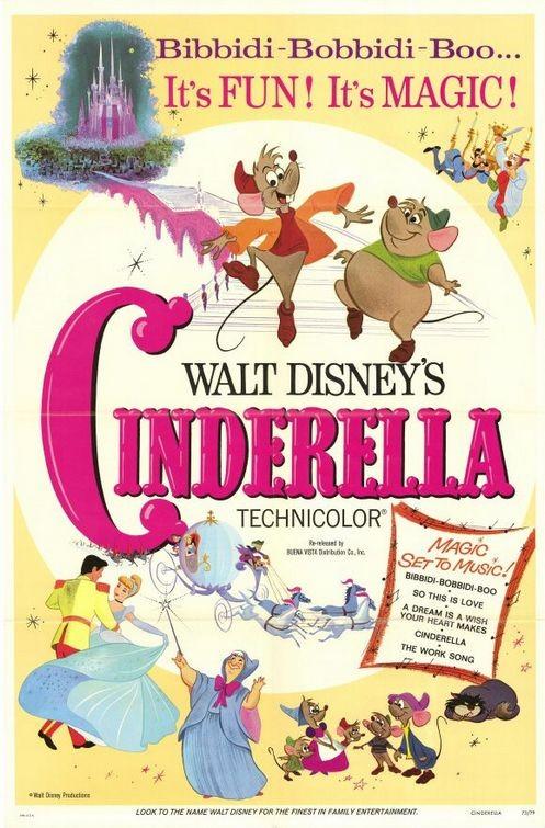 Locandina del film Cenerentola (Cinderella, 1950)