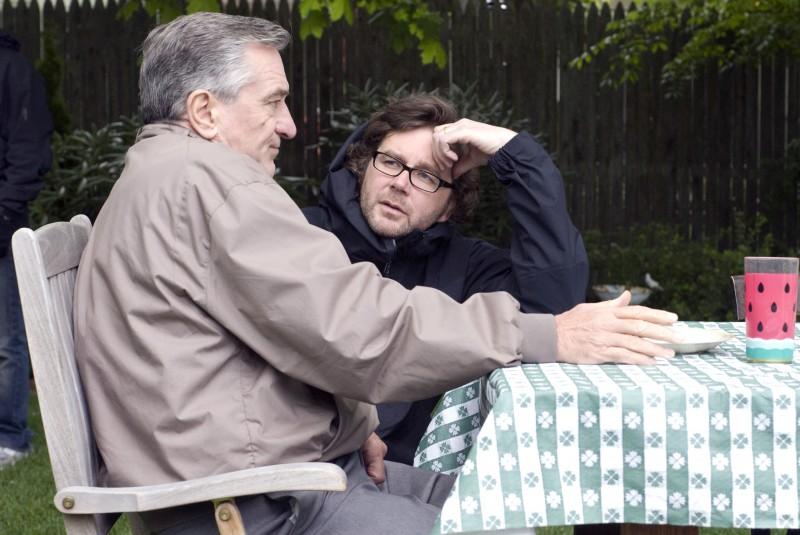 Robert De Niro e Kirk Jones sul set di Everybody's fine