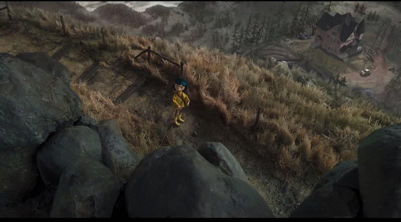 Una scena tratta dal blu-ray di Coraline