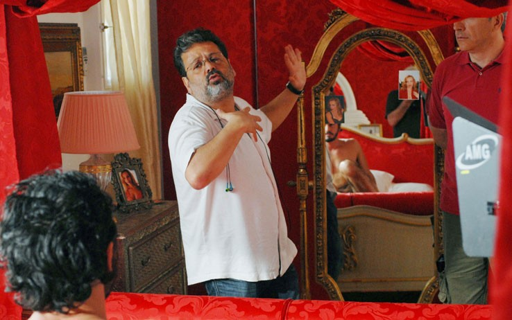 Alfredo Peyretti sul set di 'Moana'
