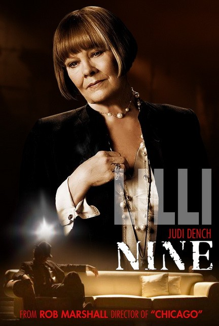 Character poster per Nine - Judi Dench