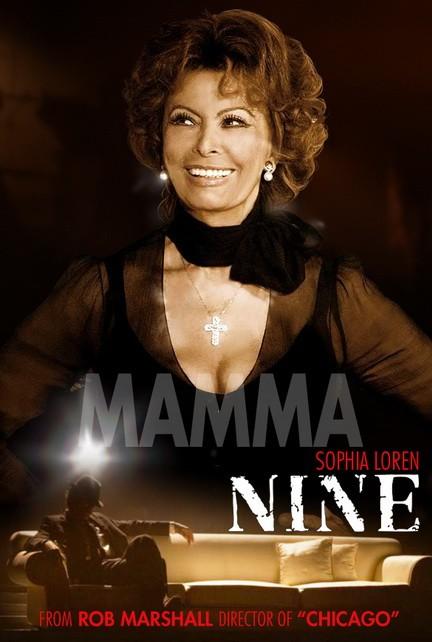 Character poster per Nine - Sophia Loren