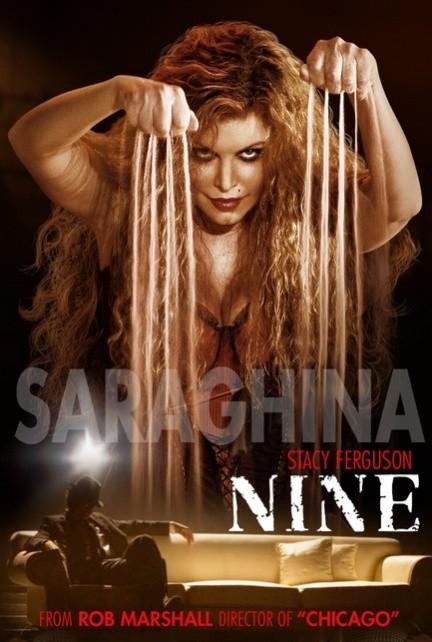 Character poster per Nine - Stacy Ferguson