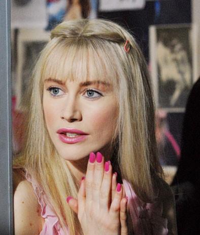 Giorgia Wurth è la pornodiva ungherese Ilona Staller nel film Moana.