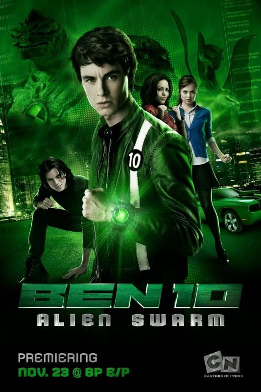 La locandina di Ben 10: Alien Swarm