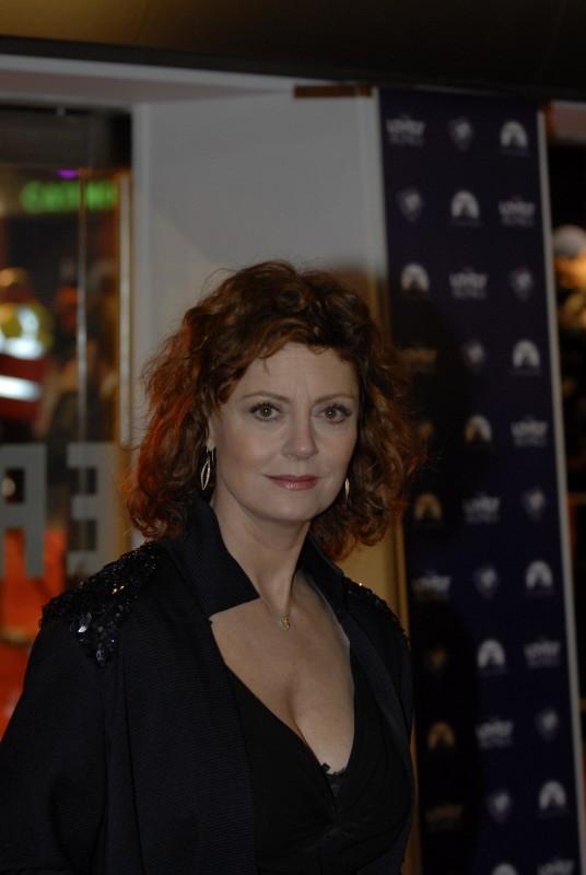 Susan Sarandon alla premiere di Londra di Amabili resti