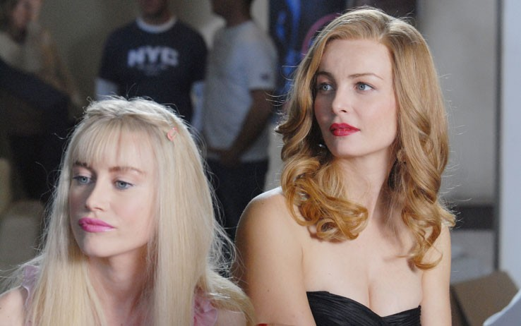 Violante Placido e Giorgia Wurth in una scena di Moana,