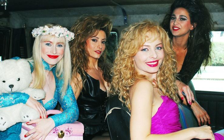Violante Placido, Giorgia Wurth, Barbara Giummarra e Antonella Salvucci nella biopic Moana
