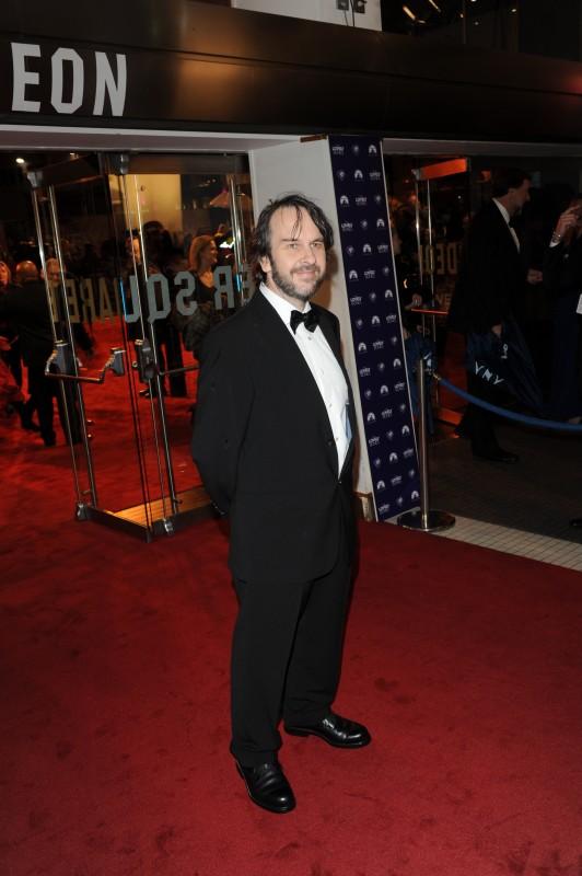 Peter Jackson alla premiere di Londra di Amabili resti