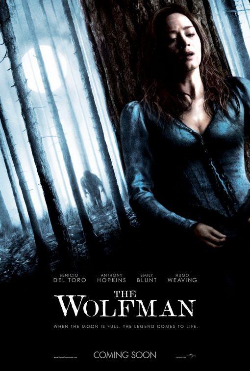 Altro poster USA per il film Wolfman