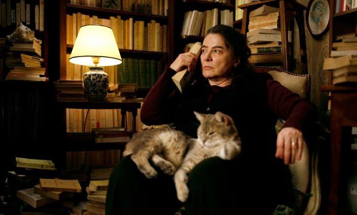 Josiane Balasko in una scena del film Il riccio