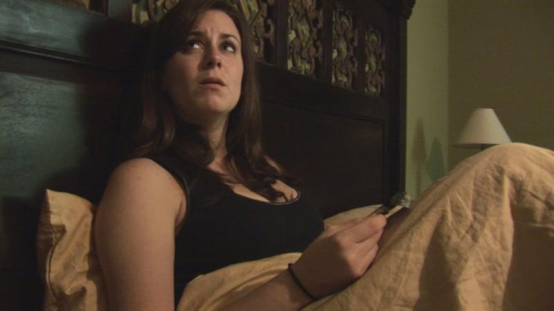 Katie Featherston è la protagonista di Paranormal Activity