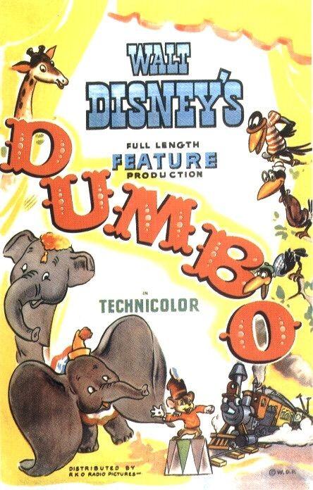 Locandina del film Dumbo ( 1941 )
