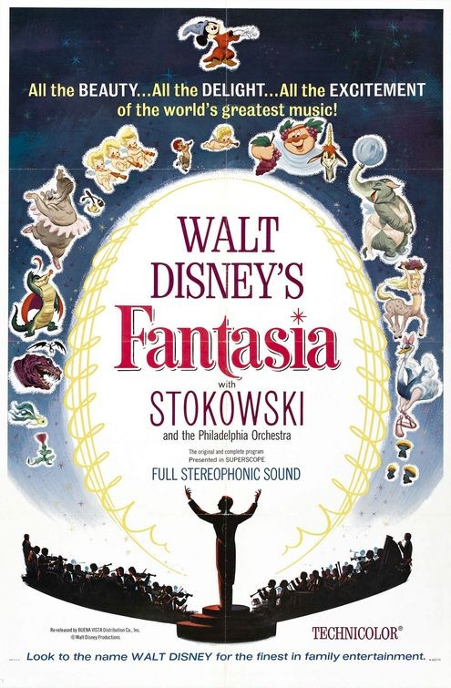 Locandina del film Fantasia ( 1940 )