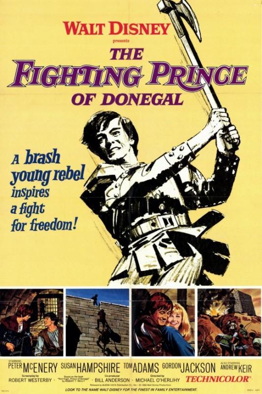 Locandina del film Il principe di Donegal ( 1966 )