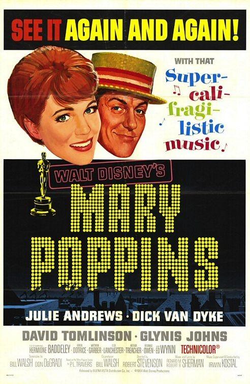 Locandina del film Mary Poppins ( 1964 )