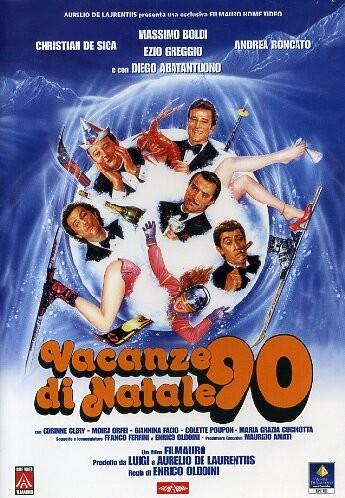 locandina italiana di Vacanze di Natale 90