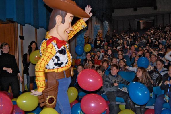 Giornate Professionali di Sorrento: la Disney promuove Toy Story 3 tra le novità. (per gentile concessione di Primissima)