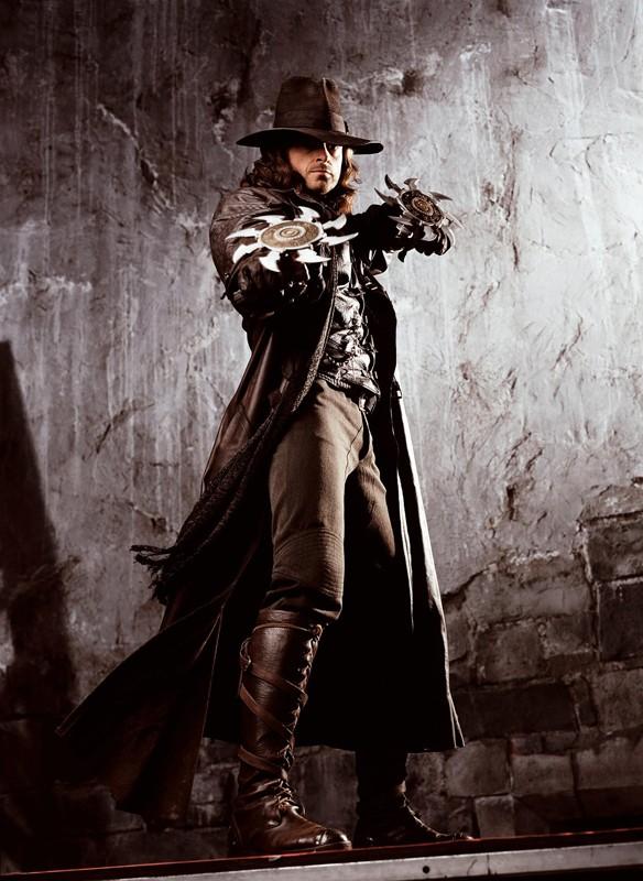 Hugh Jackman in una foto promozionale per il film Van Helsing