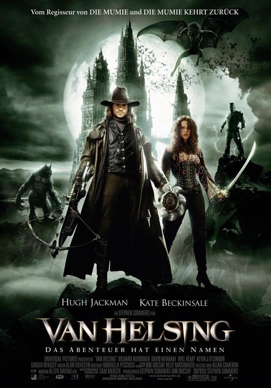 Il poster tedesco di Van Helsing