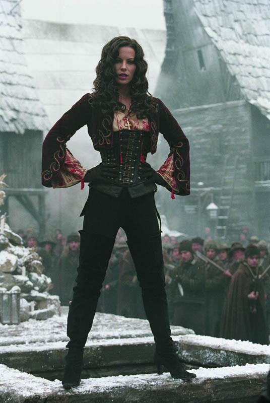 Kate Beckinsale (Anna) in una scena del film Van Helsing