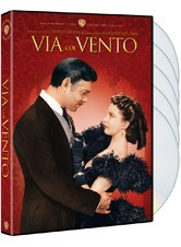 La copertina di Via col vento (dvd)