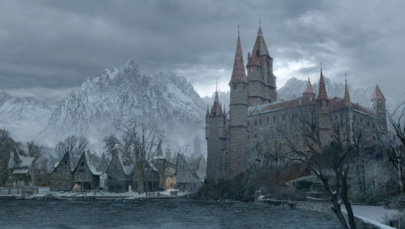 La proprietà terriera dei Valerious nel film Van Helsing