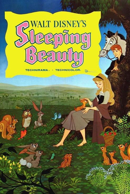 Locandina del film La bella addormentata nel bosco ( 1959 )
