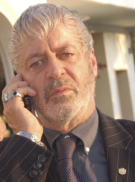 Rinaldo Talamonti in una scena di The Fall of Redemption (ph.Francesca Casadei)