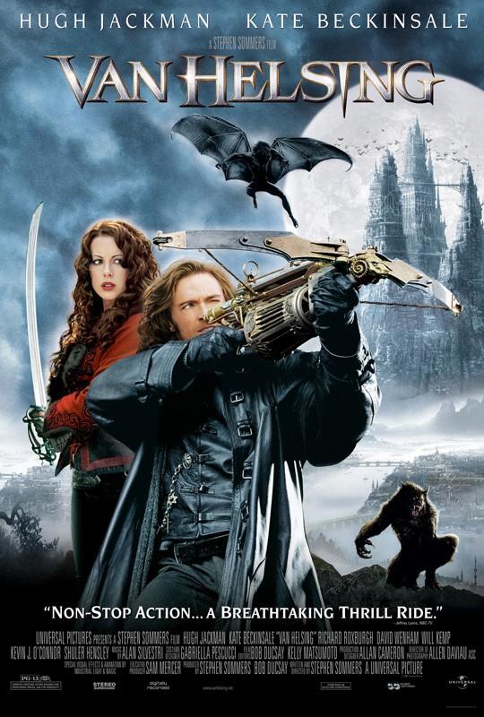 Un poster USA per il film Van Helsing